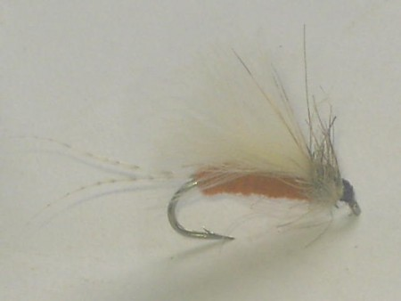 White wing cdc dry fly