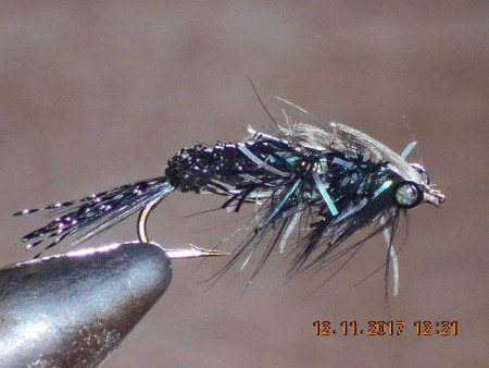Crawler woven fly black