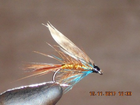 Invicta gold wet fly