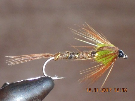 Pheasant tail green thorax