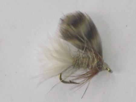 Timberline emerger gray wet fly