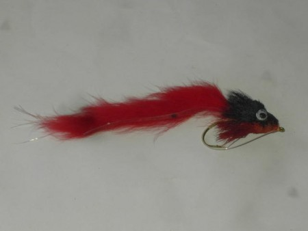 Red & black sculpin