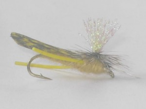Crystal wing para hopper tan