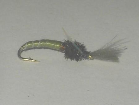 C.d.c midge dry fly