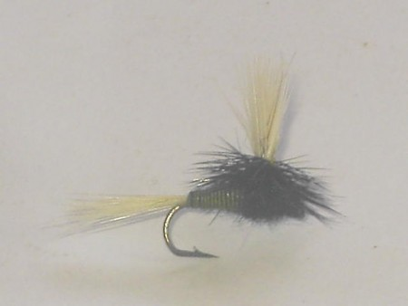 Parachute trico dry fly