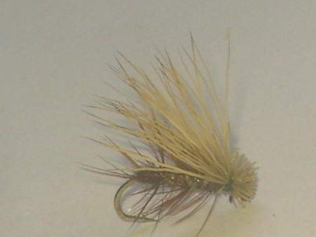 Elk hair caddis natural
