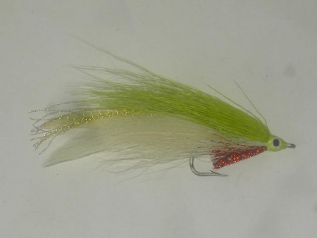 Lefty's deceiver white green