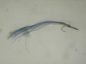 Needle fish blue white