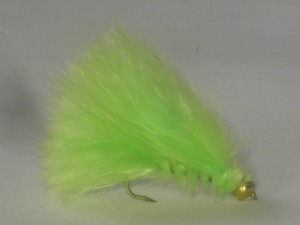 B.h marabou streamer fluorescent green