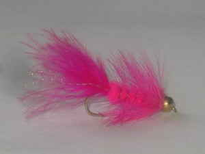 B.h woolley bugger pink