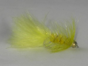 B.h woolley bugger yellow