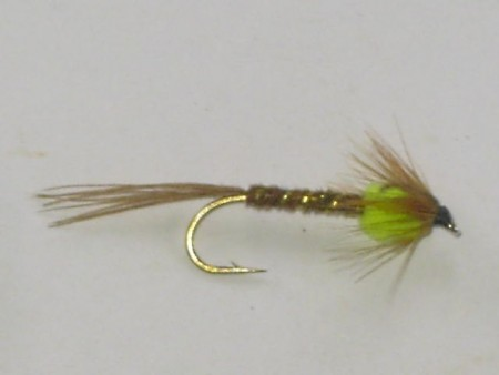Pheasant tail green thorax