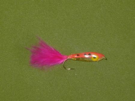Epoxy ørekyte rosa fly
