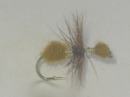 Fur ant cinnamon dry fly