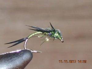Stonefly green fly