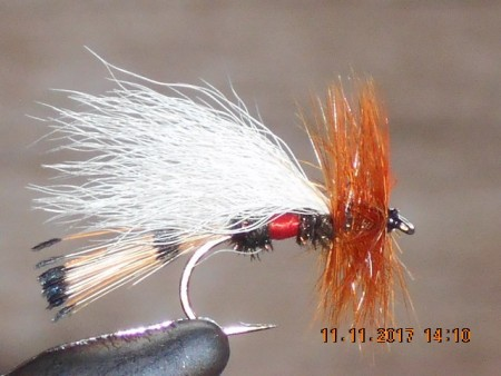 Chuck trude royal dry fly