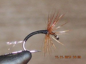 Tenkara crystal black