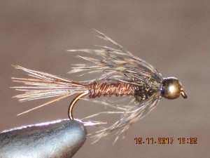 Bead head soft hackle pheasant tail