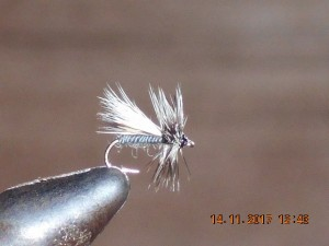 Caddis variant dry fly