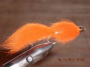 Cone head streamer orange