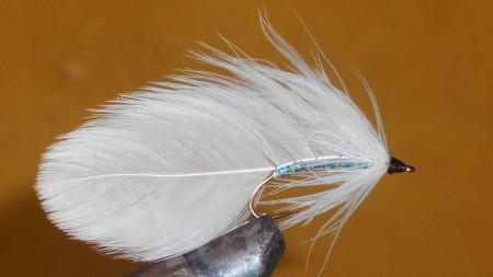 White Matuka streamer