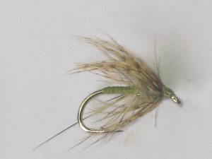 Partridge & green wet fly