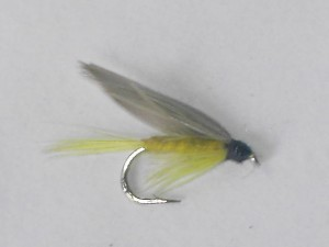 Yellow dun wet fly