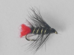 Silver Zulu wet fly
