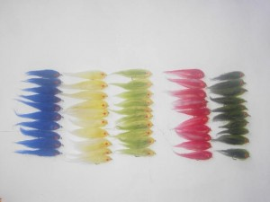 50 Assorted Fissie fly fishing flies