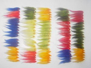 100 Assorted Fissie fly fishing flies