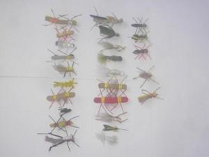 25 Assorted Foam fly fishing flies