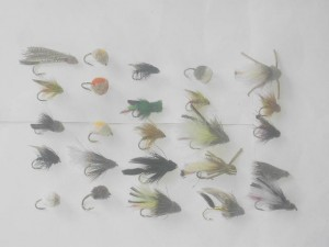 25 Assorted Muddlers fly fishing flies