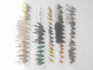75 Assorted Muddlers fly fishing flies