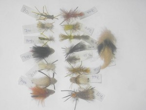 25 Assorted special fly fishing flies