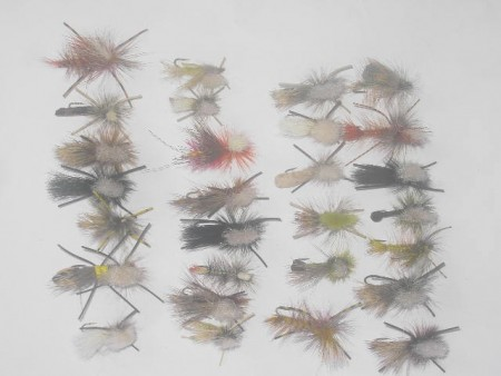 100 Assorted special fly fishing flies