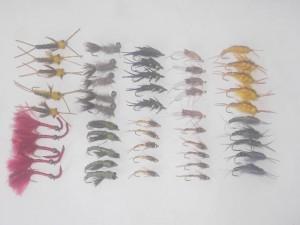 50 Assorted stoneflies fly fishing flies