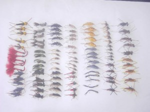 100 Assorted stoneflies fly fishing flies