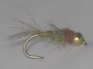 B.h fb caddis nymph olive