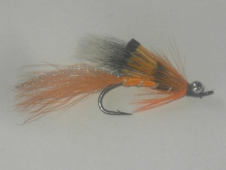 Alley shrimp orange bead chain